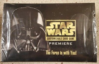 Star Wars CCG UNLimited Edition WB Premiere Booster Box Decipher Factory-Sealed