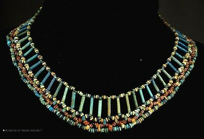 Ancient Egyptian Faience Beads Necklace 2000 + y.o