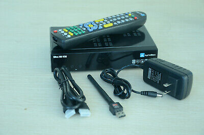 Jynxbox Ultra HD V30+ FTA Satellite Receiver with JB200 & WiFi *Latest Version*