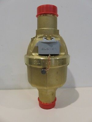 30mm ELSTER KENT INLINE WATER METER brass psm volumetric V100 PN16 Class C