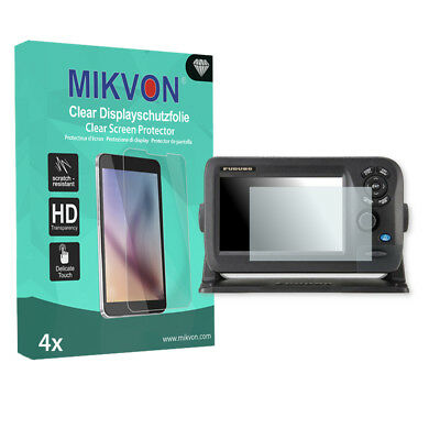 4x Mikvon Clear Screen Protector for Furuno GP-1870F Retail Package