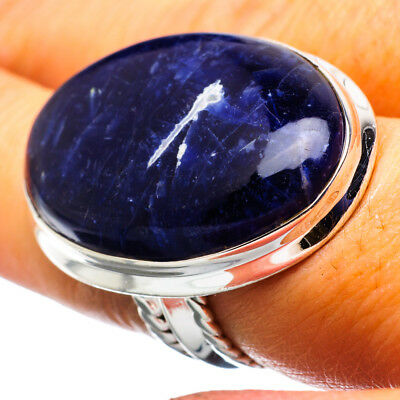 Large Sodalite 925 Sterling Silver Ring Size 6 Ana Co Jewelry R864940F