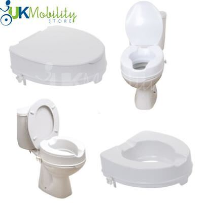 Excellent Drive Raised Toilet Aid Seat With Or Without Lid In 2 4 Pdpeps Interior Chair Design Pdpepsorg