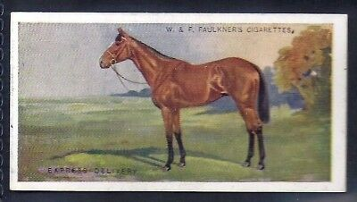 Faulkner-Prominent Racehorses Of The Present Day (1St Series)-#11- Horse Racing