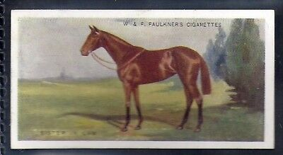 Faulkner-Prominent Racehorses Of The Present Day (1St Series)-#20- Horse Racing