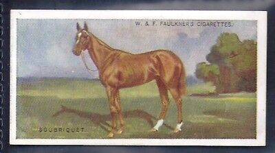 Faulkner-Prominent Racehorses Of The Present Day (1St Series)-#21- Horse Racing