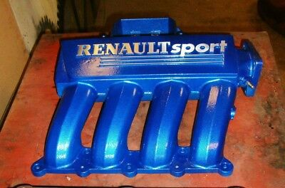 Renault Clio sport 172 mondial blue inlet manifold. cup phase 2