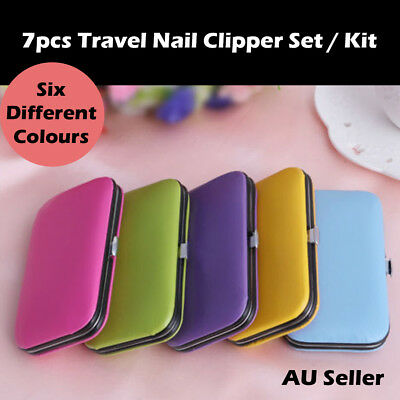 7pcs  Nail Clipper Manicure / Pedicure Set Stainless Steel Kit Travel & Others