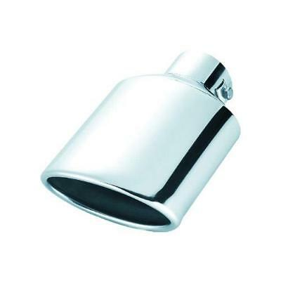 (021B) High Chrome S/Steel Exhaust Tip Trim fits MAZDA 2