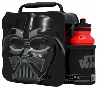 Star Wars Darth Vader Thermal 3D Lunch Bag with Drinks Bottle