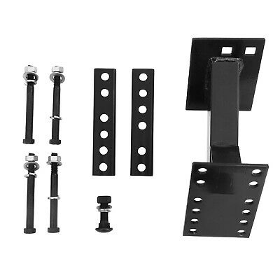 Spare Tire Wheel Mount - Boat & Utility Enclosed Trailer Bracket Carrier
