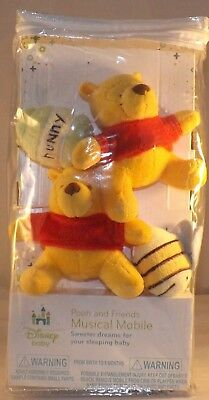 Disney Pooh and Friends Musical pre-ownedBaby CribMobilein original package