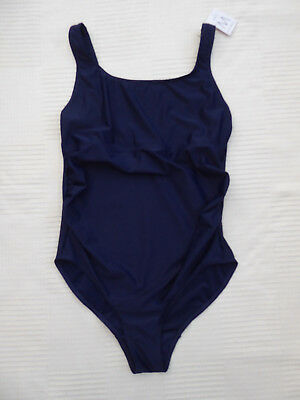 NEW Next navy maternity swimming costume Size 12