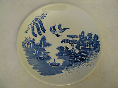 "Blue and White Anfora Mexico  Hand Painted 8 1/4""  Plate"