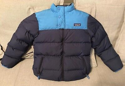 PATAGONIA Boys Down Sweater Jacket Size L (12) Compare at $150+, EUC No Reserve!