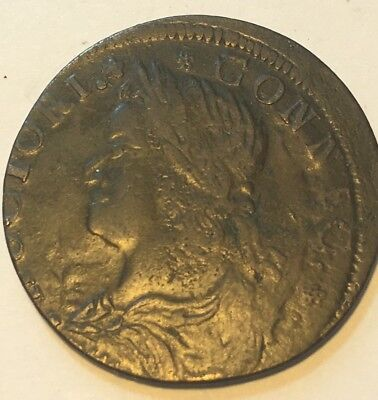 1787 Connecticut Colonial Rare Variety  Copper Coin Great Shape # 339