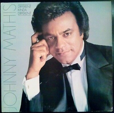 """DIFFERENT KINDA DIFFERENT"" by Johnny Mathis Promo LP Vinyl Record 1980 VG+/VG+"