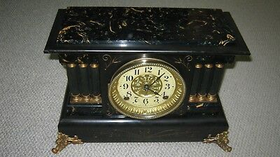 Antique Seth Thomas Adamantine Mantle Clock