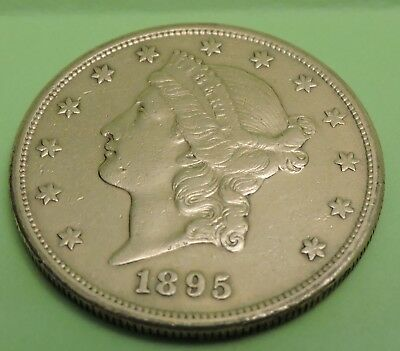 1895 $20 Liberty Gold Double Eagle- Shipping Included..
