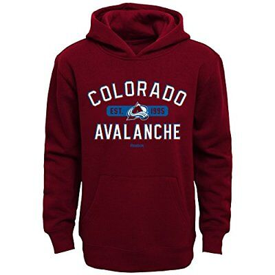 NHL Colorado Avalanche Boys Kids Todays Highlights Fleece Hoodie, Medium/(5-6),