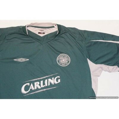 Celtic 2004-2005 UMBRO Away Football Shirt XLARGE XL