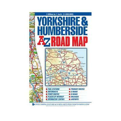 Yorkshire & Humberside Road Map by Geographers A-z Map Co. Ltd.