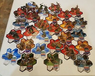 Heroscape Figures with Cards Lot A