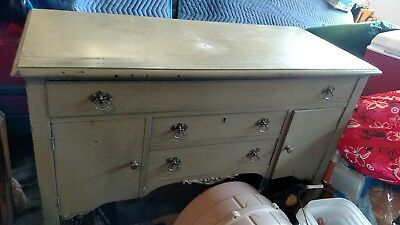1940's vintage dining linen and butler's buffet good condition