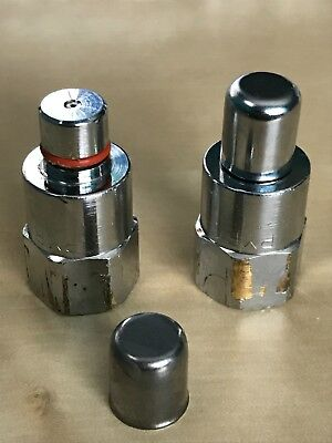 Pyrochem 1H Nozzles, refurbished with blow off caps