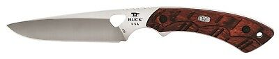 Buck Knives 538 Open Season Small Game Red Wood Fixed Blade Knife 538RWS