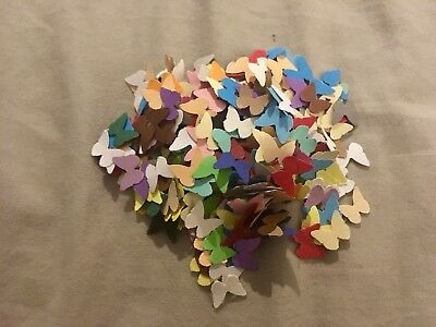 500 Small Paper Butterfly Craft Party Confetti Card Making