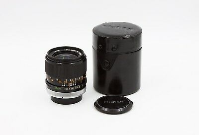 Canon 35mm F/2 FD Mount SSC Fast Prime Lens made in Japan (#101948)
