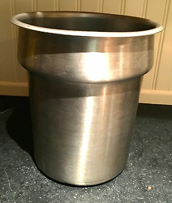 Stainless Steel Soup Tureen ~ Commercial ~ 4 Quart ~ With Hinge