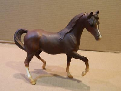 Breyer Matte Dark Brown Prancing Miniature Horse Stallion