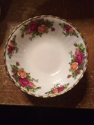 Royal Albert Doulton Old Country Roses Cereal Salad Bowl 6 1/4""