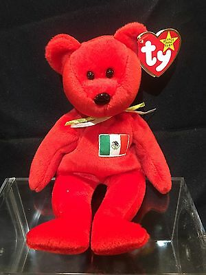 "BEANIE BABY  ""OSITO""  The Mexican Teddy Bear.... 1999  NEW w/ Tags"