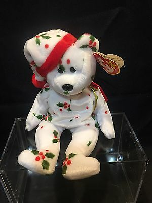 "Ty Beanie Baby   '1998 Holiday Teddy""  -    NEW  1998"