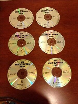Eric Clapton Story - Still Got the Blues Westwood One Radio Show (6 CD's) 1995