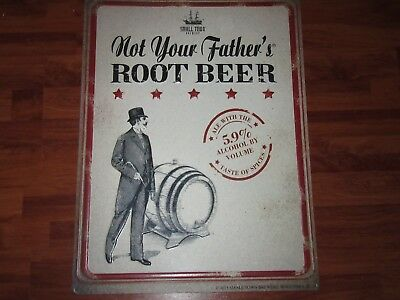 NEW SMALL TOWN BREWERY NOT YOUR FATHER'S ROOT BEER TIN METAL SIGN 18x24