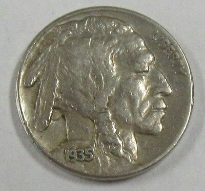 1935-S Buffalo Nickel - Indian Head Beautiful AU Coin! *Old US 5 Cents