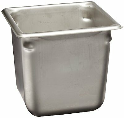 "Vollrath 30662 6"" Deep Super Pan V Stainless Steel Sixth-Size Steam Table Pan"