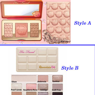 Glow Palette Sweet Peach Blush Check Palette by Too Faced Cosmetics Highlighter