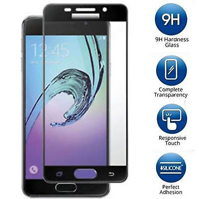 Samsung Galaxy J7 Prime [FULL COVER] Tempered Glass Screen Protector Cover Saver