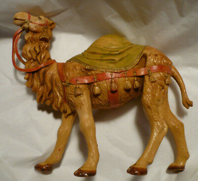 "Fontanini 1992  -  5"" Saddle Camel for 3 kings Nativity Figurine 268"