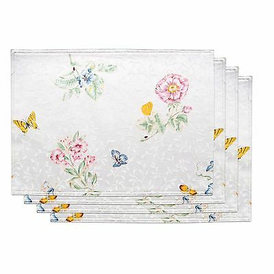 Lenox White Butterfly Meadow Placemat~ Brand New with Tags!!!
