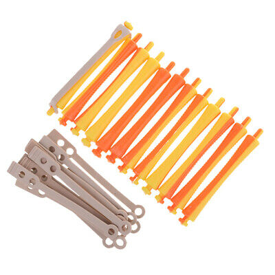 48 x Perm Rods Rollers for Salon Barber Perming Hair Curling Hairstyle Tools