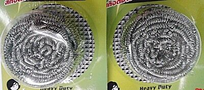 2pc.Stain Remover Stainless Steel Wire for Cleaning Polishing Non Crumble Shiny