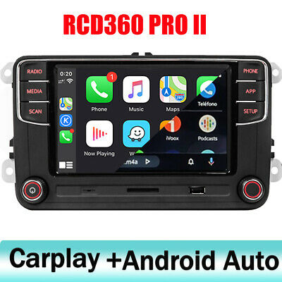 Car Stereo RCD330 Carplay,Android Auto,BT,AUX,RVC For VW GOLF TOURAN SHARAN,POLO