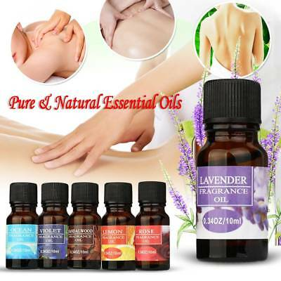10ML 100% Pure & Natural Essential Oil For Diffuser - Choose Fragrance HQ