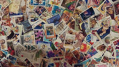 Australian Stamps, Used All Different, bulk collection QTY100+ off paper